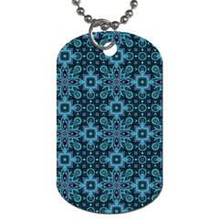 Abstract Pattern Design Texture Dog Tag (one Side)