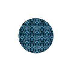 Abstract Pattern Design Texture Golf Ball Marker