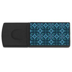 Abstract Pattern Design Texture USB Flash Drive Rectangular (2 GB)