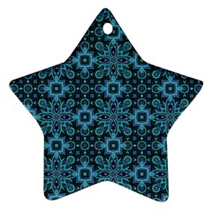 Abstract Pattern Design Texture Star Ornament (two Sides)