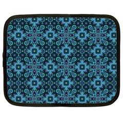 Abstract Pattern Design Texture Netbook Case (Large)