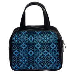 Abstract Pattern Design Texture Classic Handbags (2 Sides)