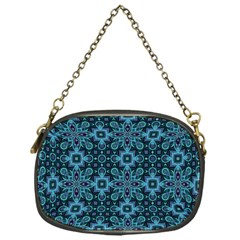 Abstract Pattern Design Texture Chain Purses (One Side)