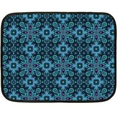 Abstract Pattern Design Texture Double Sided Fleece Blanket (Mini)