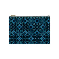 Abstract Pattern Design Texture Cosmetic Bag (Medium)