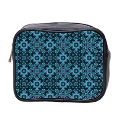 Abstract Pattern Design Texture Mini Toiletries Bag 2 Side