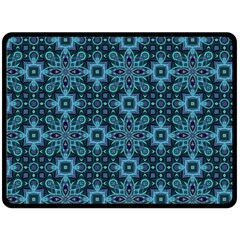 Abstract Pattern Design Texture Fleece Blanket (large)