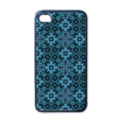 Abstract Pattern Design Texture Apple iPhone 4 Case (Black)