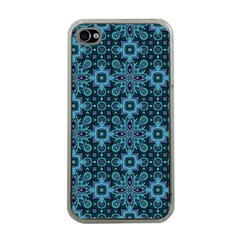 Abstract Pattern Design Texture Apple iPhone 4 Case (Clear)