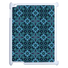Abstract Pattern Design Texture Apple iPad 2 Case (White)