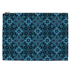 Abstract Pattern Design Texture Cosmetic Bag (XXL)
