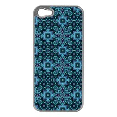 Abstract Pattern Design Texture Apple iPhone 5 Case (Silver)