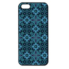 Abstract Pattern Design Texture Apple iPhone 5 Seamless Case (Black)