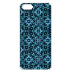 Abstract Pattern Design Texture Apple Iphone 5 Seamless Case (white)