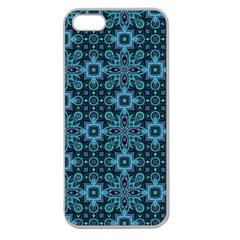 Abstract Pattern Design Texture Apple Seamless iPhone 5 Case (Clear)