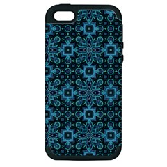 Abstract Pattern Design Texture Apple Iphone 5 Hardshell Case (pc+silicone)