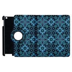 Abstract Pattern Design Texture Apple Ipad 2 Flip 360 Case
