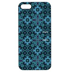 Abstract Pattern Design Texture Apple Iphone 5 Hardshell Case With Stand