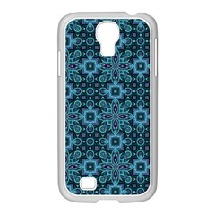 Abstract Pattern Design Texture Samsung Galaxy S4 I9500/ I9505 Case (white)