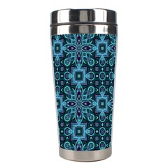 Abstract Pattern Design Texture Stainless Steel Travel Tumblers