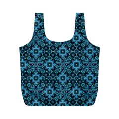 Abstract Pattern Design Texture Full Print Recycle Bags (M)