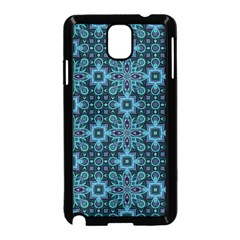 Abstract Pattern Design Texture Samsung Galaxy Note 3 Neo Hardshell Case (Black)