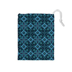 Abstract Pattern Design Texture Drawstring Pouches (medium)