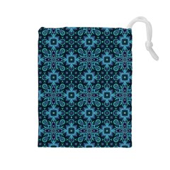 Abstract Pattern Design Texture Drawstring Pouches (large)