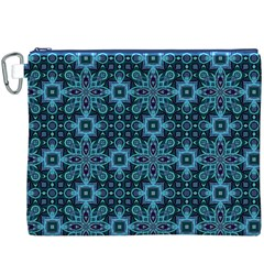 Abstract Pattern Design Texture Canvas Cosmetic Bag (XXXL)