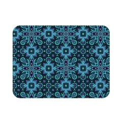 Abstract Pattern Design Texture Double Sided Flano Blanket (mini)