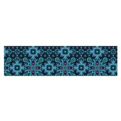 Abstract Pattern Design Texture Satin Scarf (Oblong)