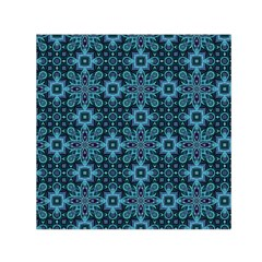 Abstract Pattern Design Texture Small Satin Scarf (square)