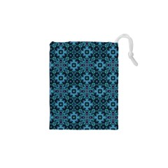 Abstract Pattern Design Texture Drawstring Pouches (XS)