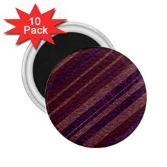 Stripes Course Texture Background 2.25  Magnets (10 pack)