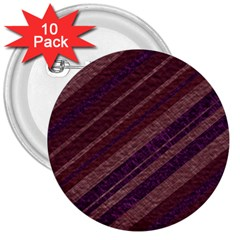 Stripes Course Texture Background 3  Buttons (10 Pack)