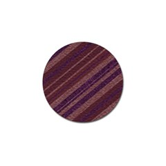 Stripes Course Texture Background Golf Ball Marker (10 Pack)