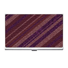 Stripes Course Texture Background Business Card Holders
