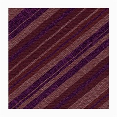 Stripes Course Texture Background Medium Glasses Cloth (2-Side)