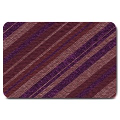 Stripes Course Texture Background Large Doormat