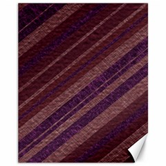 Stripes Course Texture Background Canvas 11  x 14