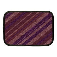 Stripes Course Texture Background Netbook Case (Medium)