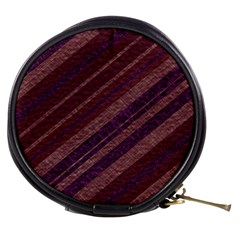 Stripes Course Texture Background Mini Makeup Bags