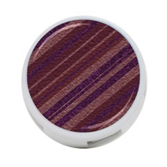 Stripes Course Texture Background 4 Port Usb Hub (one Side)