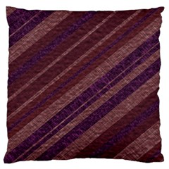 Stripes Course Texture Background Large Cushion Case (Two Sides)