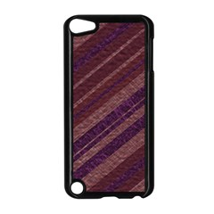 Stripes Course Texture Background Apple iPod Touch 5 Case (Black)