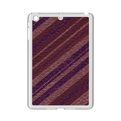 Stripes Course Texture Background iPad Mini 2 Enamel Coated Cases