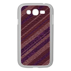 Stripes Course Texture Background Samsung Galaxy Grand DUOS I9082 Case (White)