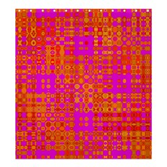 Pink Orange Bright Abstract Shower Curtain 66  x 72  (Large)
