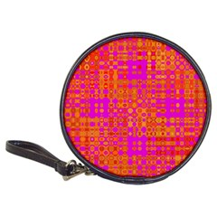 Pink Orange Bright Abstract Classic 20-CD Wallets