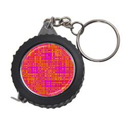 Pink Orange Bright Abstract Measuring Tapes